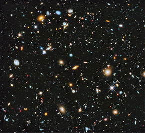 The Hubble Ultra-Deep Field, my favourite mindfuck