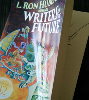 Signed copy of Writers of the Future 32